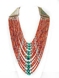 coral necklace images Multi string coral necklace david 39 s antiques jewelry png