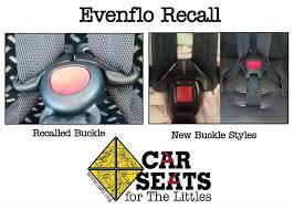 Evenflo High Chair Recall Evenflo Car Seat Buckle Recall Car Seats For The Littles