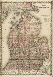 Map Of Wisconsin And Minnesota by Colton U0027s Michigan Barry Lawrence Ruderman Antique Maps Inc