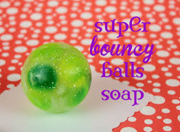 bouncy soap diy soap