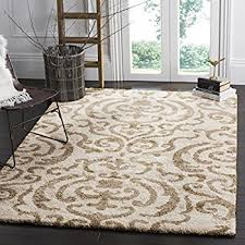 Brown Area Rugs Safavieh Florida Shag Collection Sg462 1113 And