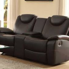 home decor cool dual recliners with console to complete la z boy