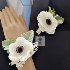 wedding flowers groom aliexpress buy 2pcs lot white wedding flowers groom