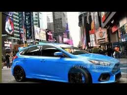 high performance ford focus ford focus rs 2016 high performance road car