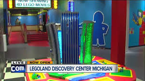 Great Lakes Crossing Map Legoland Discovery Center Michigan Opens Youtube