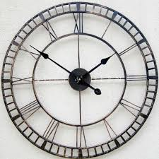 Awesome Clocks by Oversized Wall Clocks Spaces With Antique Clock Surripui Net