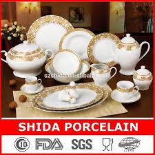 royal gold 132pcs porcelain dinner set buy porcelain dinner
