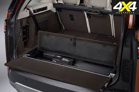 land rover discovery sport trunk space 2017 land rover discovery review 4x4 australia