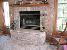 gallery of refacing brick fireplace have on home design ideas with