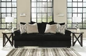 Fabric Sofa Set Sofas Center Beta Sofa Polished Chrome Legs Black Fabric And