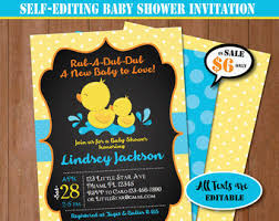 rubber duck baby shower duck baby shower etsy