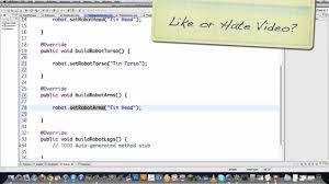 builder pattern in java 8 builder design pattern youtube