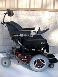 Used Power Wheel Chairs Permobil C300 Power Chair Electric Tilt Recline Legs Used Wheelchair