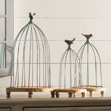 Bird Cage Decor Decorative Bird Houses U0026 Cages You U0027ll Love Wayfair Ca