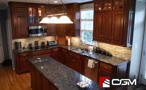 blue countertop kitchen ideas blue pearl classic granite kitchen countertops richmond va