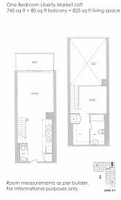 liberty place floor plans just sold 2 storey 1 bedroom loft suite at 5 hanna ave 325
