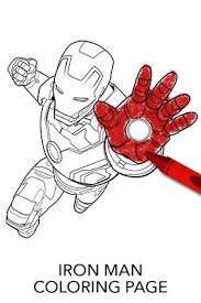 Avengers Iron Man Coloring Page Disney Movies Coloring Page Iron