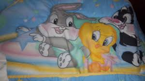 Looney Tunes Crib Bedding Free Baby Looney Tunes Crib Set Baby Gear Listia Auctions