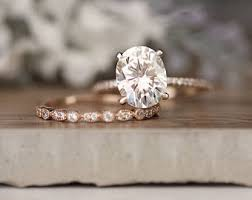 bridal ring sets canada bridal sets etsy