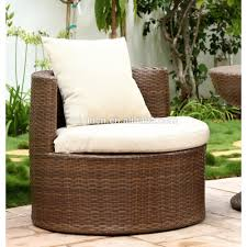 round tub design home used terrace leisure outdoor chat furniture