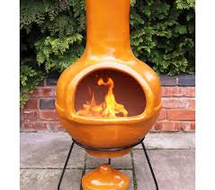 Blue Rooster Chiminea Review Ceramic Chiminea Fire Pit Home Fireplaces Firepits Beauty