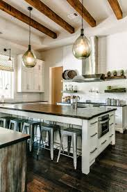 awesome rustic industrial kitchen design ideas with nice 2 pendant