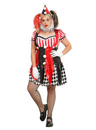 Size Halloween Costumes 3x 4x Harlequin Clown Costume Size Topic