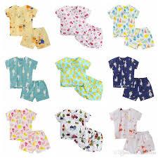 baby pajamas ins nightwear summer clothing set