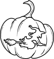 free printable pumpkin coloring kids 4