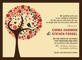 invites you or invite you fall wedding invitation the wedding specialiststhe wedding