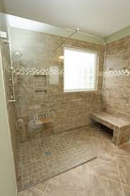 Ideas For Showers In Small Bathrooms Interesting Showers With Seats To Decorating