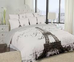 paris themed comforter sets elegant paris eiffel tower bedding