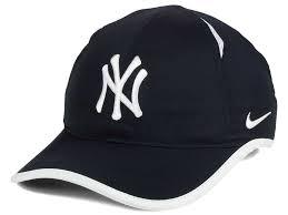 nike hat dri fit feather light cap new york yankees nike mlb dri fit featherlight adjustable cap lids com