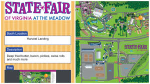 State Fair Map by Rain Or Shine State Fair Of Virginia Ready To Welcome Visitors