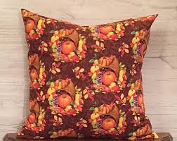 Thanksgiving Pillow Covers Nature Pillow Leaf Pillow Earth Tones Pillow Woodland