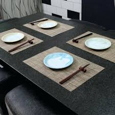 dining room placemats dining room table placemats