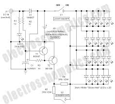 portable led lantern circuit