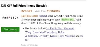 farfetch black friday luxury retailer discounting on singles u0027 day will they do it again