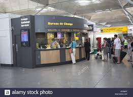 the shop bureau de change bureau de change stansted airport stock photo 7904126 alamy