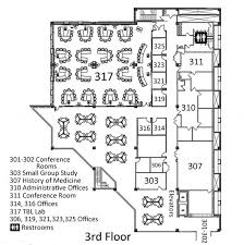 Pictures Of Floor Plans Library And Learning Center Floor Plans Ruth Lilly Medical Library