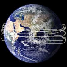how fast does the space station travel images How many times can light travel around the earth in 1 second jpeg