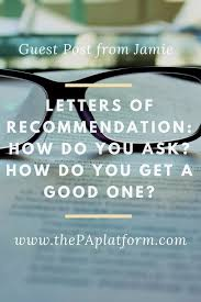 guest post from jamie letters of recommendation how do you ask