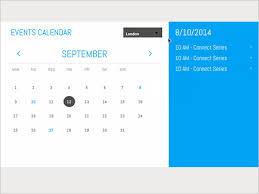 26 html calendar templates u2013 free html psd css format download