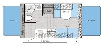 Rear Kitchen Rv Floor Plans 2016 Jay Feather Travel Trailer Floorplans U0026 Prices Jayco Inc