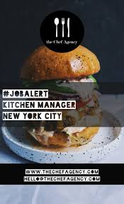 Kitchen Manager Re The Chef Agency Linkedin