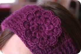 Free Pattern For Crochet Flower - crochet flower pattern for headband crochet and knit