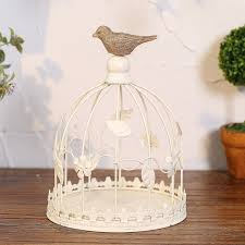 wedding decoration bird cage antique metal bird cages candle