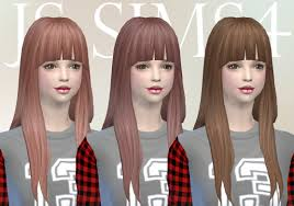 js sims 4 u0027s hairstyles sims 4 hairs
