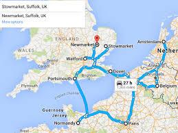 Brest France Map by Uk To Uk Via France Holland U0026 Belgium W C 27th June U2013 Ehb