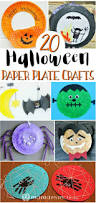 20 halloween paper plate crafts research paper yarns and kid